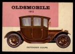 1954 Topps World on Wheels #152   Oldsmobile Defender Coupe 1912 Front Thumbnail