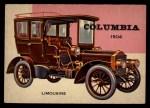 1954 Topps World on Wheels #150   Columbia Limousine 1904 Front Thumbnail