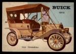 1954 Topps World on Wheels #4   Buick Toy Tonneau 1910 Front Thumbnail