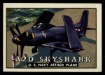 1952 Topps Wings #89   A2D Skyshark Front Thumbnail