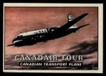 1952 Topps Wings #178   Canadair Four Front Thumbnail