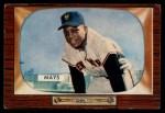 1955 Bowman #184  Willie Mays  Front Thumbnail