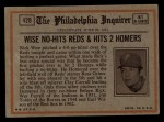 1972 Topps #428   -  Tito Fuentes In Action Back Thumbnail