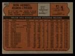 1972 Topps #469  Ron Herbel  Back Thumbnail