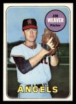 1969 Topps #134  Jim Weaver  Front Thumbnail