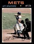 1971 Topps #445  Art Shamsky  Front Thumbnail
