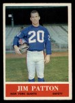 1964 Philadelphia #122  Jim Patton  Front Thumbnail