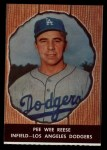 1958 Hires Root Beer #23 xTAB Pee Wee Reese  Front Thumbnail