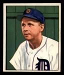 1950 Bowman #212  Jerry Priddy  Front Thumbnail