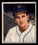 1950 Bowman #243  Johnny Groth  Front Thumbnail
