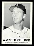 1960 Leaf #134  Wayne Terwilliger  Front Thumbnail