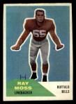 1960 Fleer #44  Ray Moss  Front Thumbnail