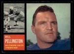 1962 Topps #9  Bill Pellington  Front Thumbnail