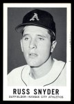 1960 Leaf #102  Russ Snyder  Front Thumbnail