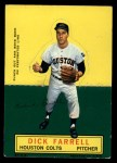 1964 Topps Stand Up  Dick Farrell  Front Thumbnail