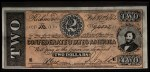 1962 Topps Civil War News Currency   $2 Serial #94505 Front Thumbnail
