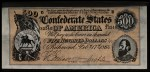 1962 Topps Civil War News Currency   $500  Front Thumbnail