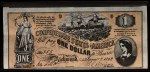 1962 Topps Civil War News Currency   $1 Serial #355 Front Thumbnail