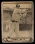 1940 Play Ball #108  Johnny Rizzo  Front Thumbnail
