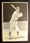 1939 Goudey Premiums R303B #12 BW Hank Greenberg  Front Thumbnail