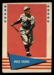 1961 Fleer #154  Ross Youngs ( Young )  Front Thumbnail