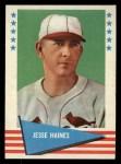 1961 Fleer #40  Jesse Haines  Front Thumbnail