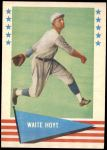 1961 Fleer #44  Waite Hoyt  Front Thumbnail