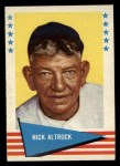 1961 Fleer #3  Nick Altrock  Front Thumbnail