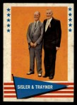 1961 Fleer #89   -  George Sisler / Pie Traynor Checklist Front Thumbnail