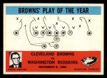 1965 Philadelphia #42   -  Blanton Collier   Cleveland Browns Front Thumbnail