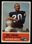 1962 Fleer #18  Bill Atkins  Front Thumbnail
