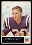 1965 Philadelphia #5  Jerry Logan   Front Thumbnail