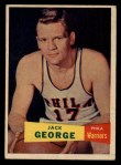 1957 Topps #67  Jack George  Front Thumbnail