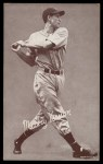 1947 Exhibits BAT Mickey Vernon   Front Thumbnail