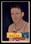 1957 Topps #76  Joe Holup  Front Thumbnail