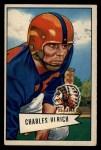 1952 Bowman Large #134  Chuck Ulrich  Front Thumbnail