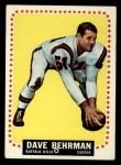 1964 Topps #24  Dave Behrman  Front Thumbnail