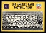 1967 Philadelphia #85   Los Angeles Rams Team Front Thumbnail