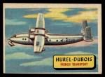 1957 Topps Planes #21 BLU  Hurel-Dubois Front Thumbnail