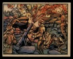 1938 Gum Inc. Horrors of War #109   Loyalist Flame-thrower in Action Front Thumbnail