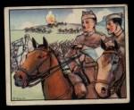1938 Gum Inc. Horrors of War #161   Franco Assumes Personal Command Near Lerida Front Thumbnail