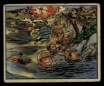 1938 Gum Inc. Horrors of War #106   Man-Made Floods Drown Japanese Troops Front Thumbnail