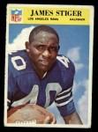 1966 Philadelphia #103  Jim Stiger  Front Thumbnail