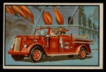 1953 Bowman Firefighters #9   Ward La France 3-Stage Booster Front Thumbnail