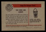 1953 Bowman Firefighters #62   1932 Hook and Ladder Back Thumbnail