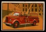 1953 Bowman Firefighters #3   Modern Pumping Engine - Mack Front Thumbnail