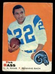 1969 Topps #81  Dick Bass  Front Thumbnail