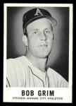 1960 Leaf #10  Bob Grim  Front Thumbnail