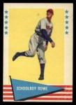 1961 Fleer #73  Schoolboy Rowe  Front Thumbnail