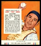 1955 Red Man #16 AL Yogi Berra  Front Thumbnail